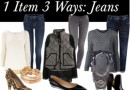 1 Item 3 Ways: Jeans for Casual Friday