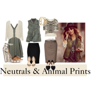 Neutrals & Animal Prints