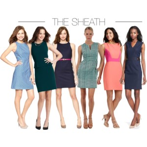 THE SHEATH DRESS