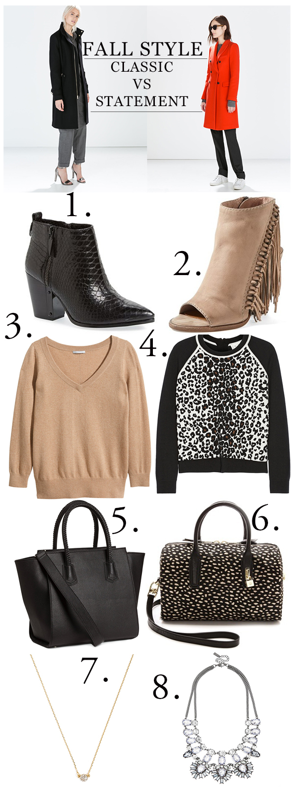 fall style, classic style, statement style